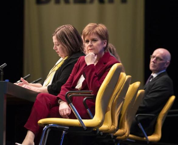 Nicola Sturgeon: Scotland – its people, its government, its parliament, has been disregarded and disrespected by the UK Government