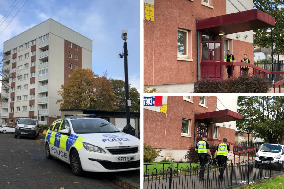 Scotstoun community in 'state of shock' after 'unexplained' death