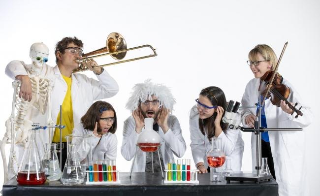 Family music event invites Glasgow kids to combine music and science