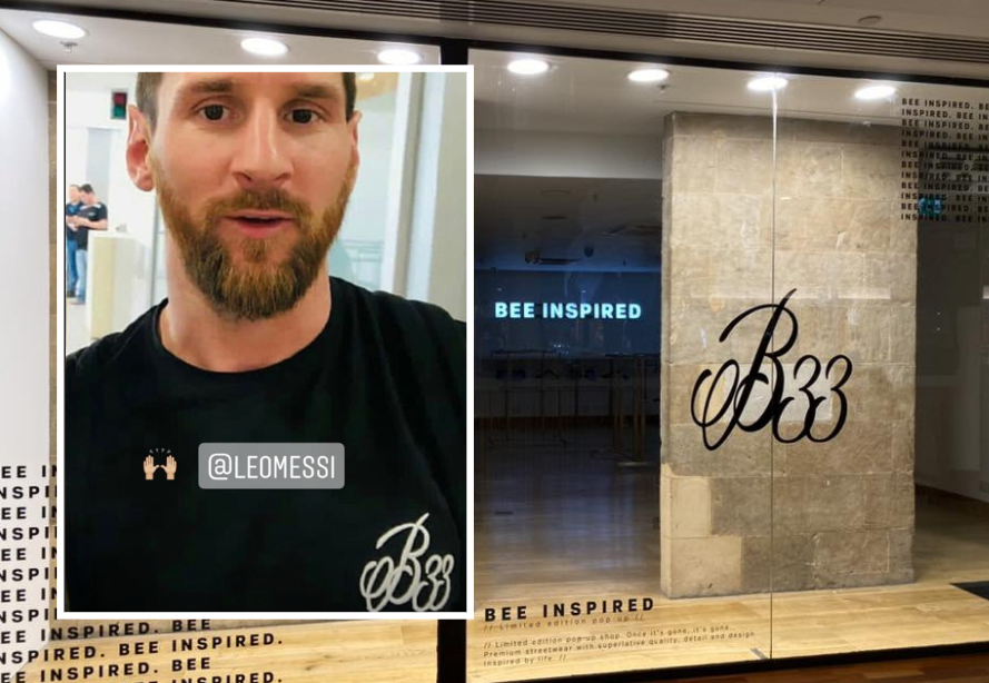 Glasgow clothing brand Bee Inspired backed by Lionel Messi to open city store