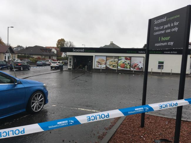 Police probe targeted overnight attack on Glasgow supermarket