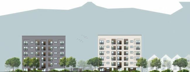 Plans have been submitted by Wheatley Group for a 'Calton Village'