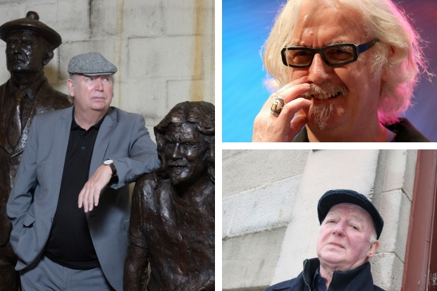 Criticism over eight-year wait for Billy Connolly and Chic Murray statue in West End