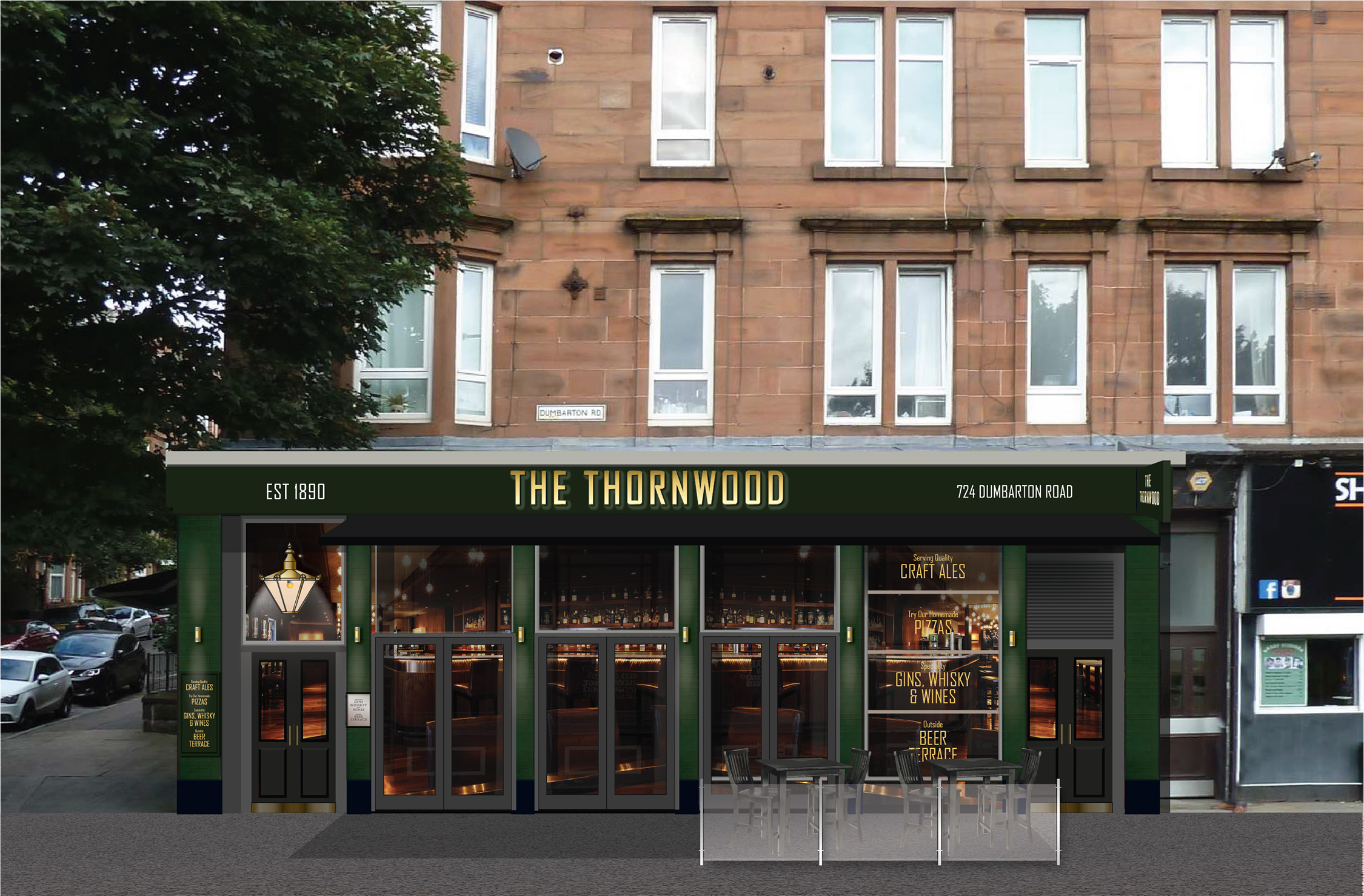 Glasgow bar with a violent past sets sights on family-friendly future