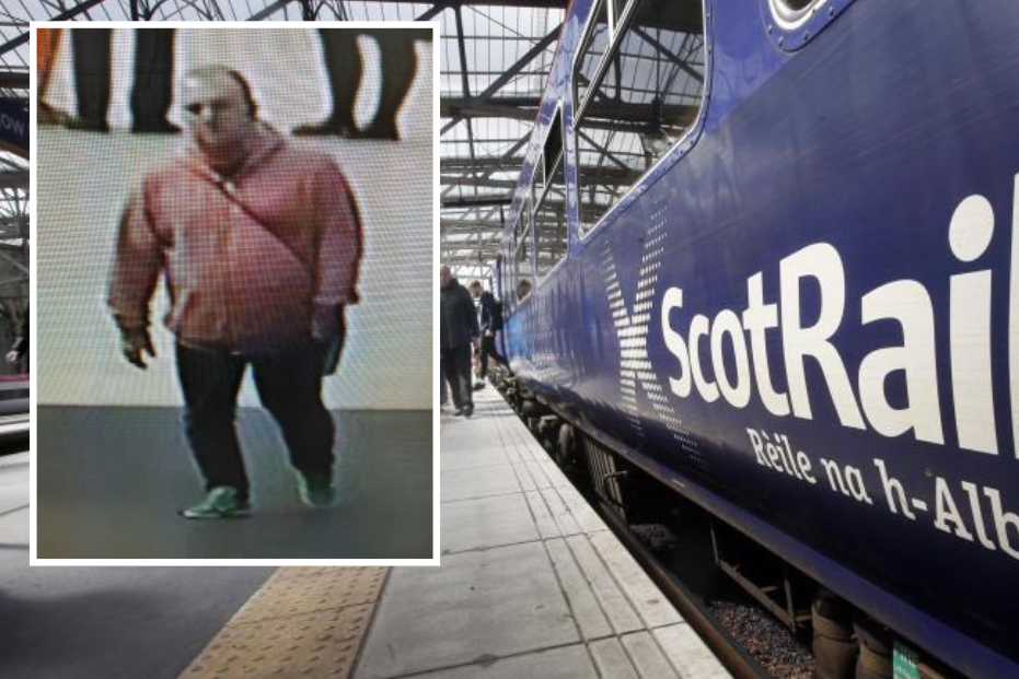 Police release CCTV after incident on-board Glasgow train