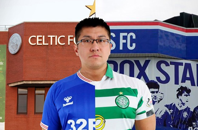 Celtic and Rangers fans react as Youtuber wears rival colours in stadium tour
