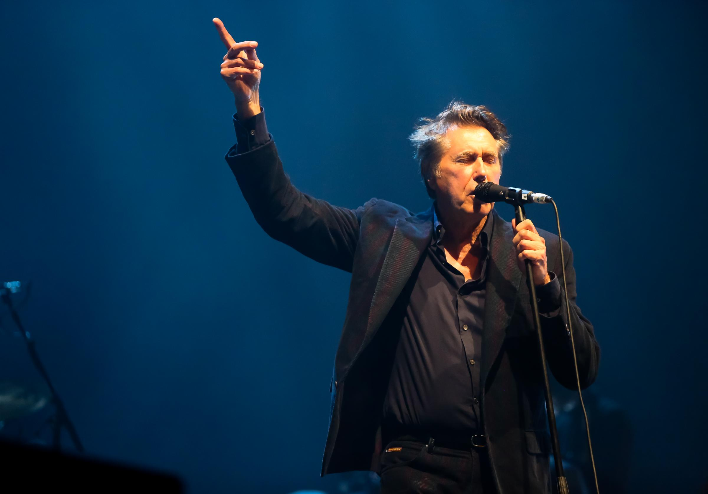 Roxy Music star Bryan Ferry announces Glasgow show
