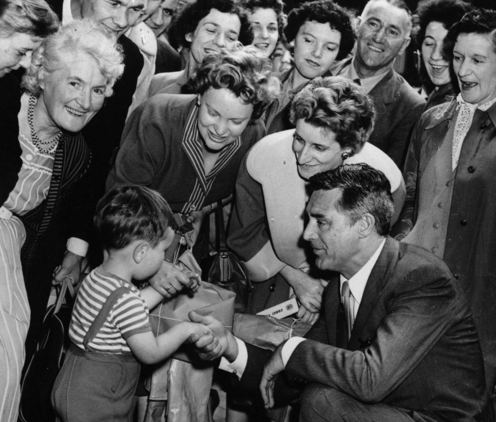 Cary Grant's Glasgow visit was day to remember for film-lovers