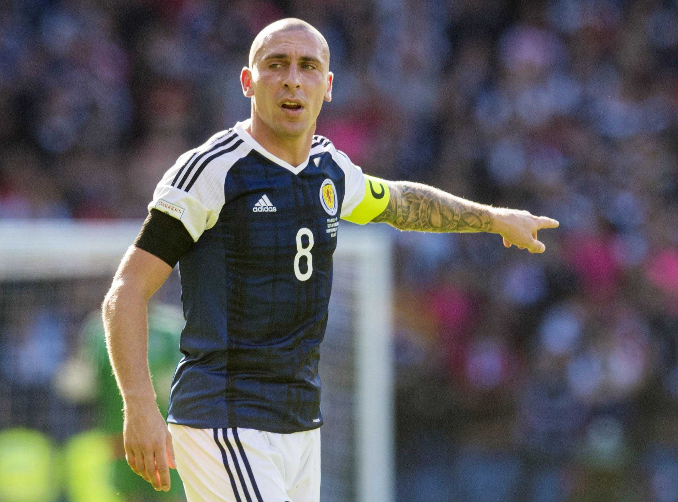 Celtic captain Scott Brown refuses to rule out second Scotland comeback at Euro 2020 finals
