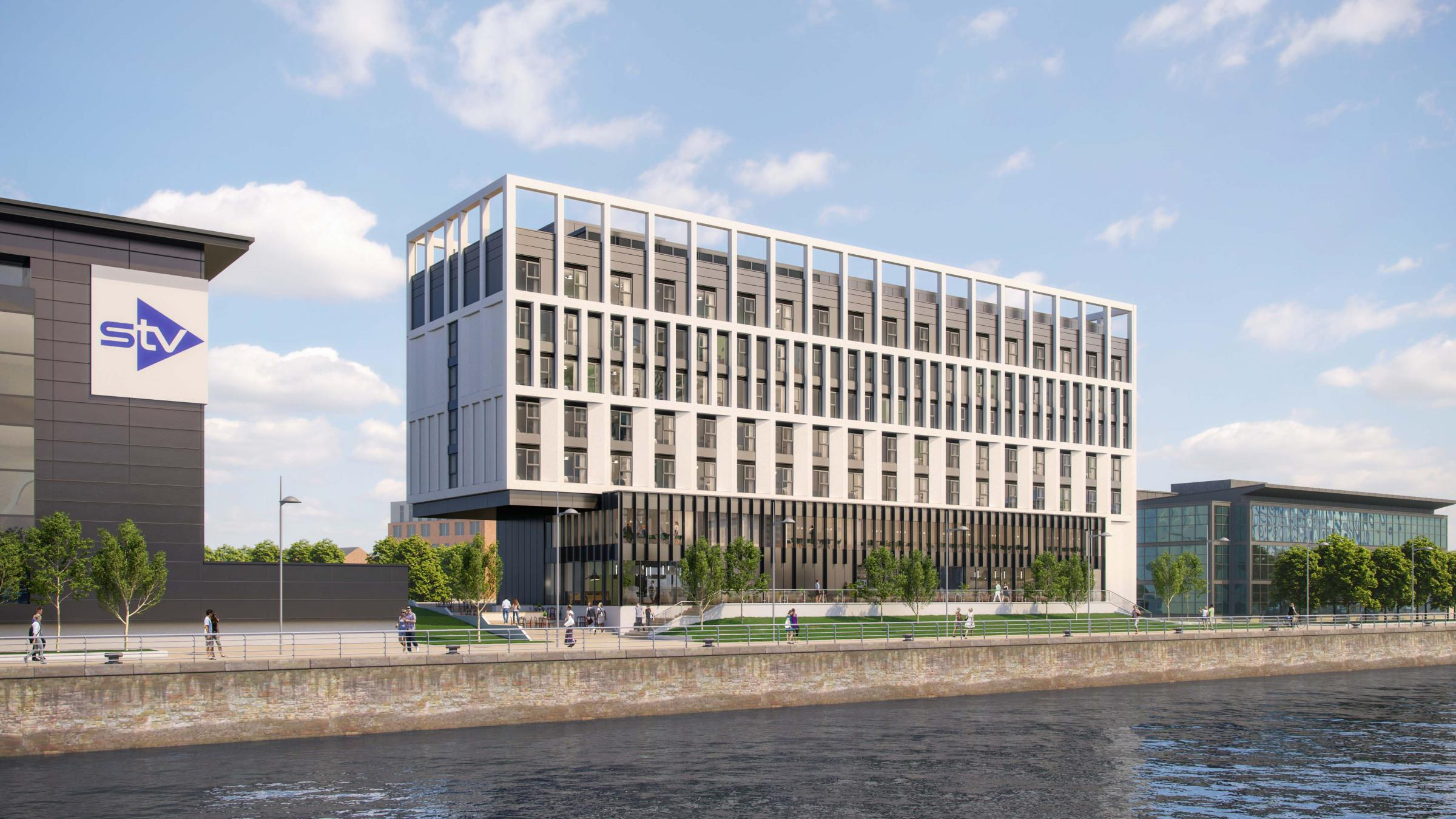 Holiday Inn reveal £18m hotel plans on River Clyde at Pacific Quay