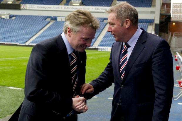 Ally McCoist would like Craig Whyte to answer questions