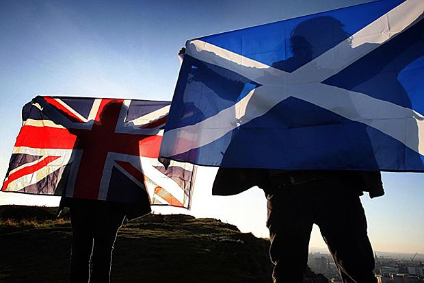 Poll says Scots more likely to vote yes if they think the Tory's will win the next UK election
