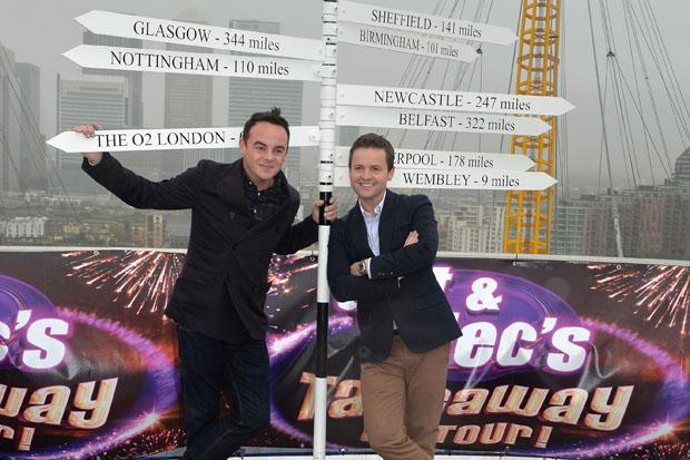Ant and Dec bring Saturday Night Takeaway to Glasgow Hydro