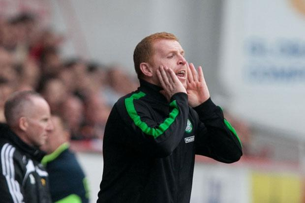 Lennon tells Celtic strikers: shape up or ship out