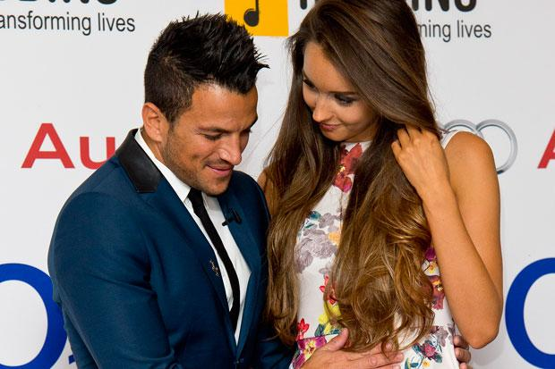 It's a girl: TV star Peter Andre becomes a dad again