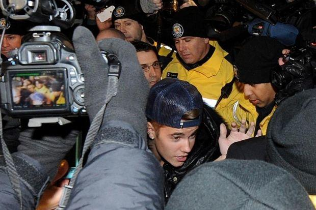 Would you Belieb it? Now Justin's charged with hitting limo driver on the head