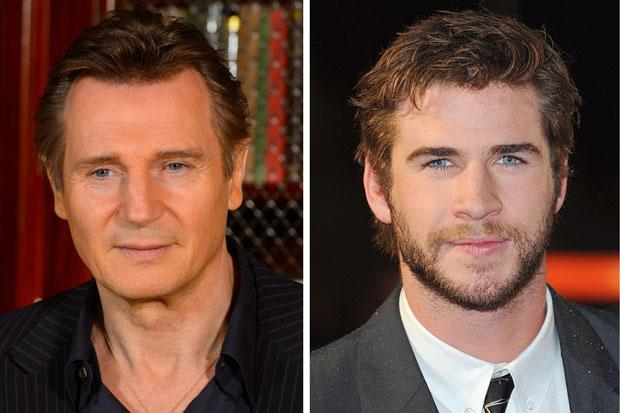 Hemsworth v Neeson: Julieanne Moore's daughter 'taken' in by the wrong Liam