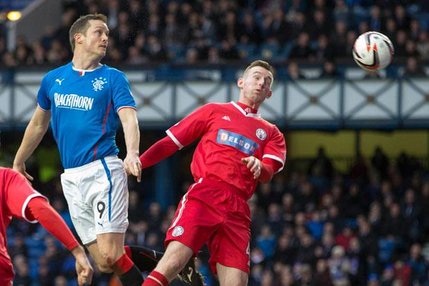 Rangers 2 Brechin 1: ten-man Gers cling on to win