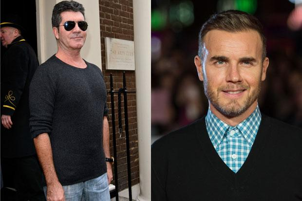 Simon Cowell says he couldn't judge with Gary Barlow