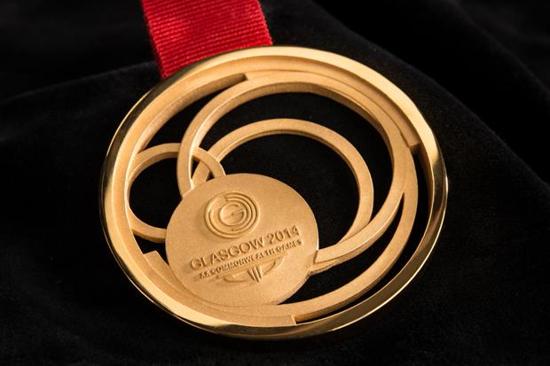 Glasgow's 2014 medals are unveiled