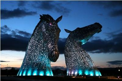 Kelpies sculpture opens to the public
