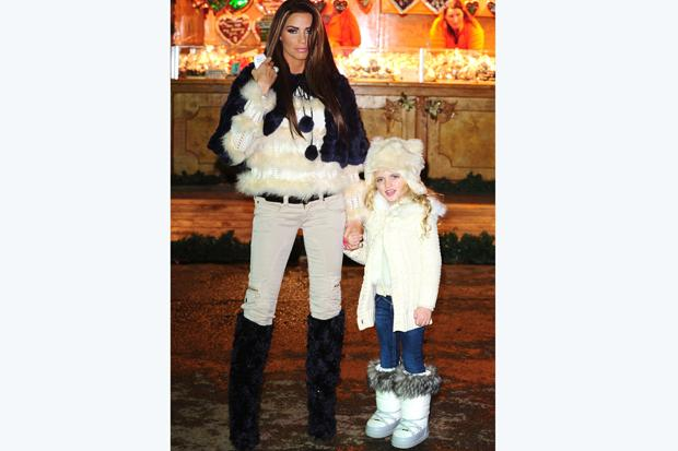 Katie Price and her daughter Princess. Fantasy names such as Princess, Crystal and Prince are seen as the group of names at risk of falling from favour most quickly.