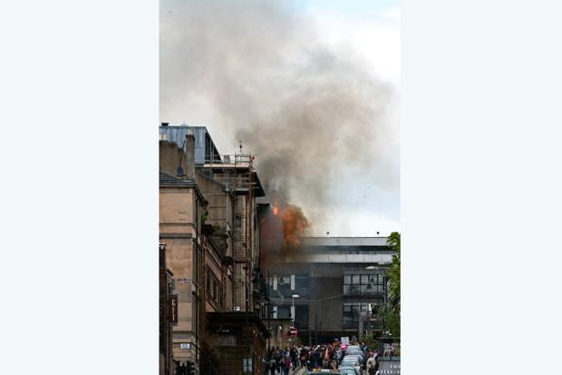 Royal Institute of British Architects' president: damage to Glasgow School of Art is an international tragedy