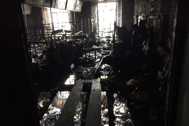 Fire has destroyed iconic Mackintosh library at Glasgow School of Art