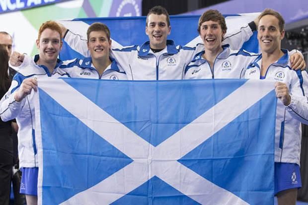 The record breakers: men's gymnasts take Team Scotland to target