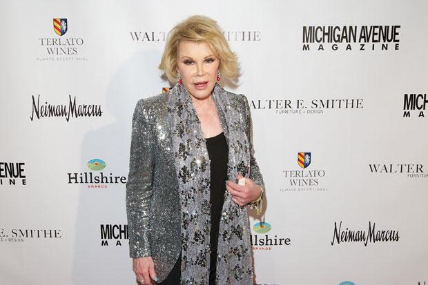 Joan Rivers, 81, rests in hospital after throat op drama ahead of Glasgow date