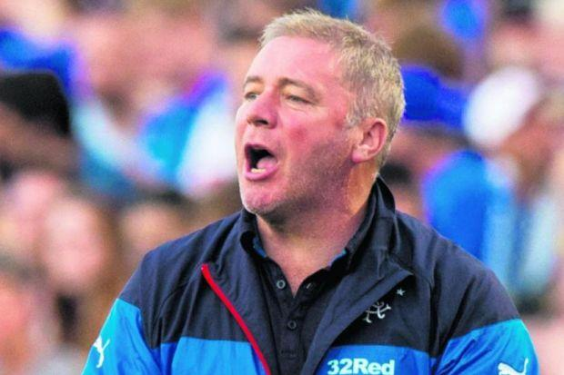 Ally McCoist's men face Derby on Saturday