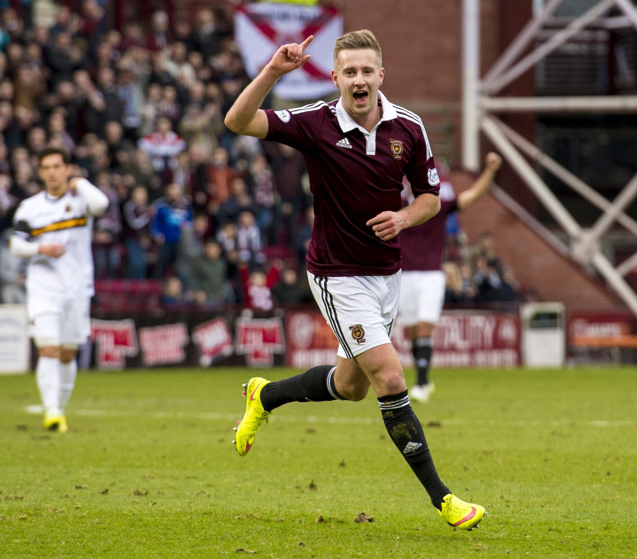 Billy King has more reason for cheer after signing a new two-year contract at Hearts