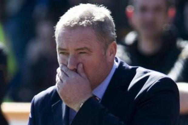 Ally McCoist says he will not accept a repeat of the Berwick debacle