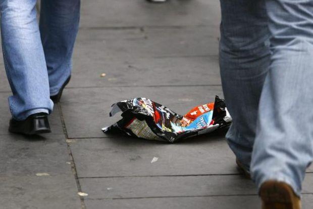 The litter crackdown has been launched ahead of the Commonwealth Games