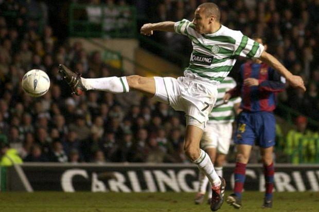 Larsson was thrilled by Celtic's showing