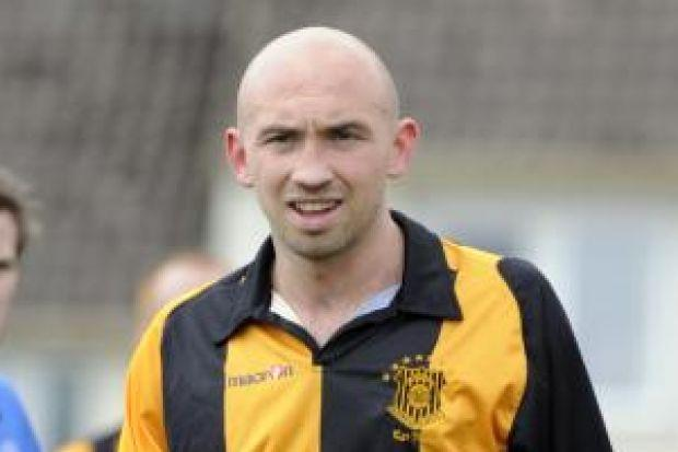 Liam McVey will be lining up against Auchinleck Talbot