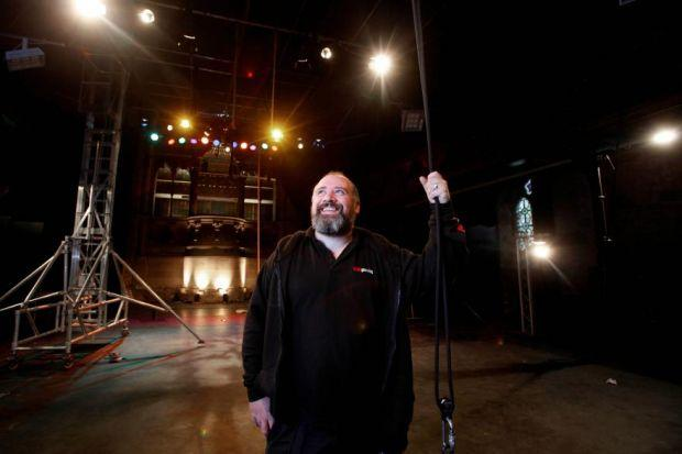 n Pete Sneddon has helped put the Cottiers Theatre firmly in the spotlight in recent years  Pictures:  Martin Shields