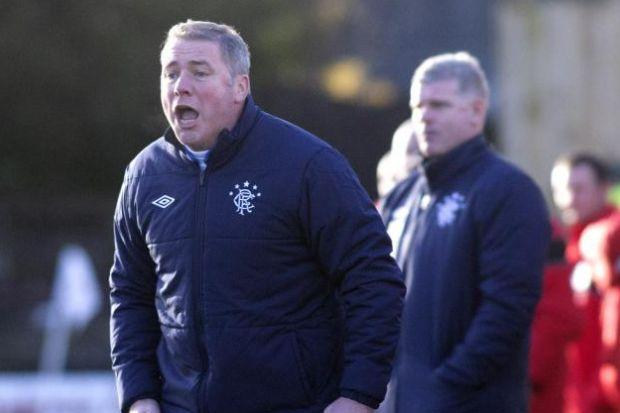 McCoist's men moved the ball quicker against East Stirlingshire