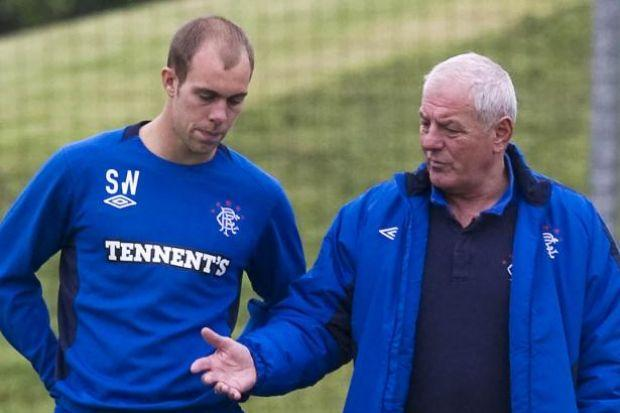 Walter Smith (right) signed Steven Whittaker for Rangers