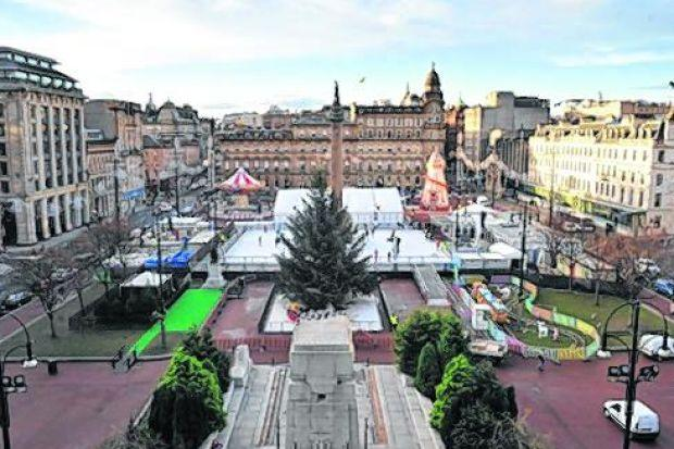 A three-day party in George Square will celebrate Scotland's patron saint