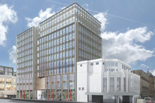 An artist's impression of how the former Odeon cinema will look when work is complete