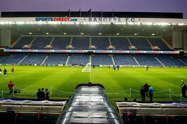 How Ibrox could look if the stadium is renamed
