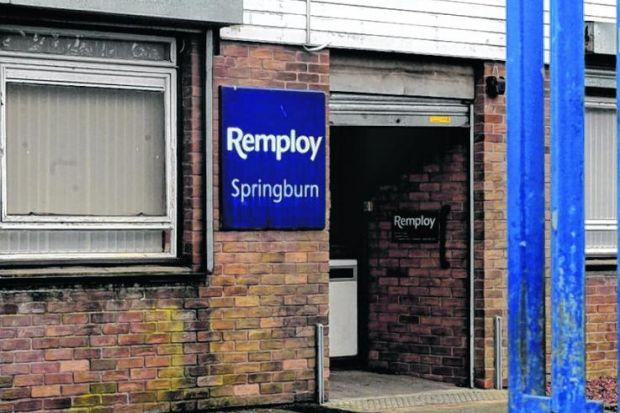 The Remploy site in Springburn