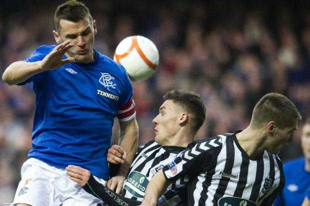 Lee McCulloch did not put a foot wrong against Elgin