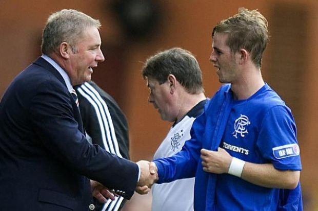 Ally McCoist will be happy to have David Templeton back in the Rangers side