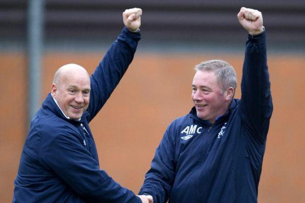 Kenny has called for focus from the Rangers players