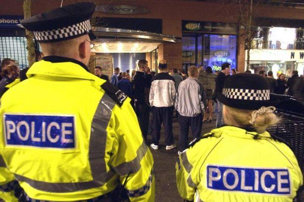 The number of police officers in Strathclyde increased by 38 to 8432