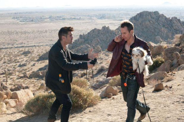 Colin Farrell and Sam Rockwell in the hilarious but violent Seven Psychopaths