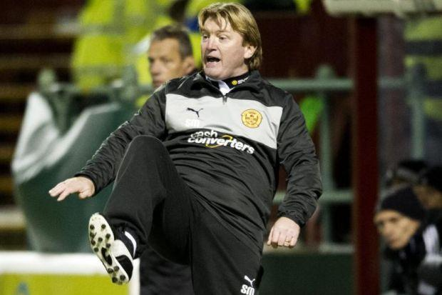 Stuart McCall shows his frustration as Motherwell slump to replay defeat