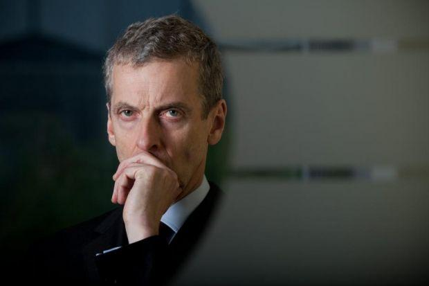 Peter Capaldi won for The Thick Of It